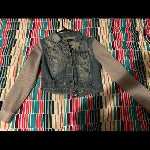 Jean/Sweater Jacket.